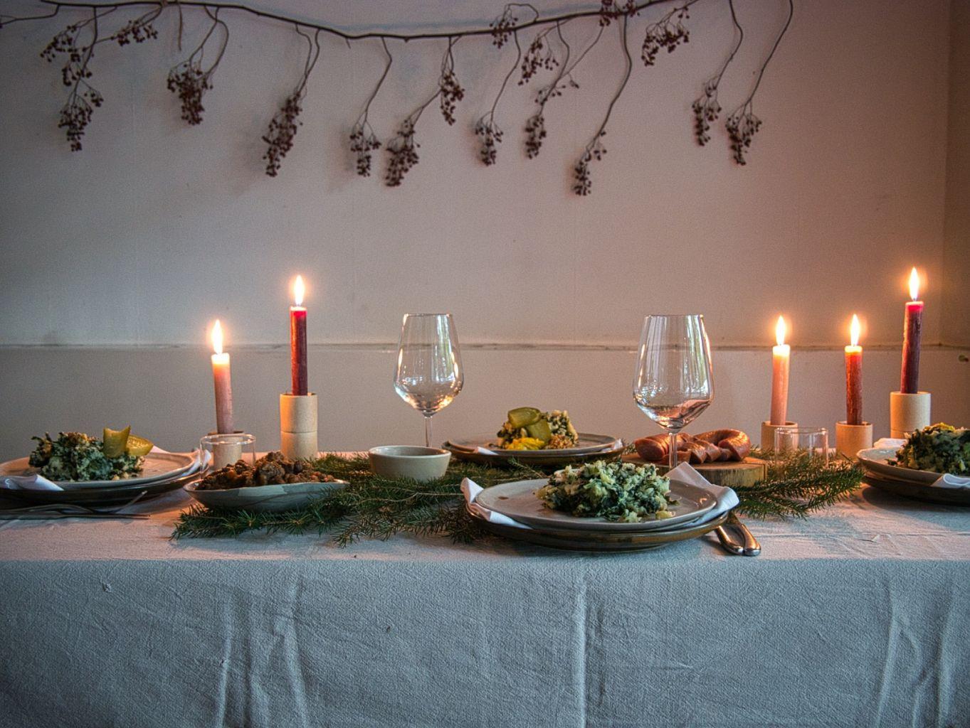 Vegetarische rollade - kerstdiner - STROOM x Oregional
