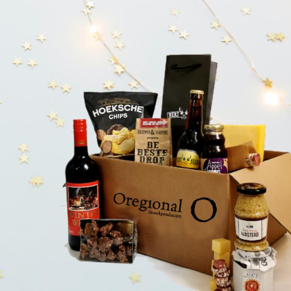 Kerstpakket - borrel - streekproducten - Oregional